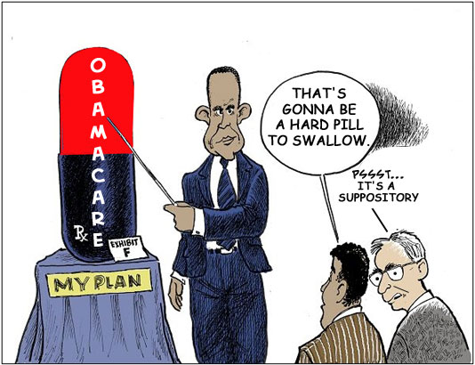 Obamacare Suppository